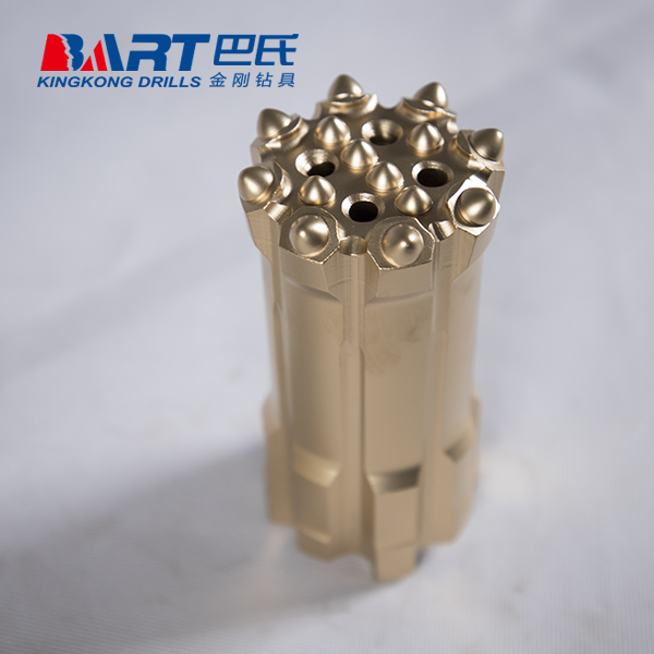 T51-89mm Retrac Threaded Rock Drilling Button Bit